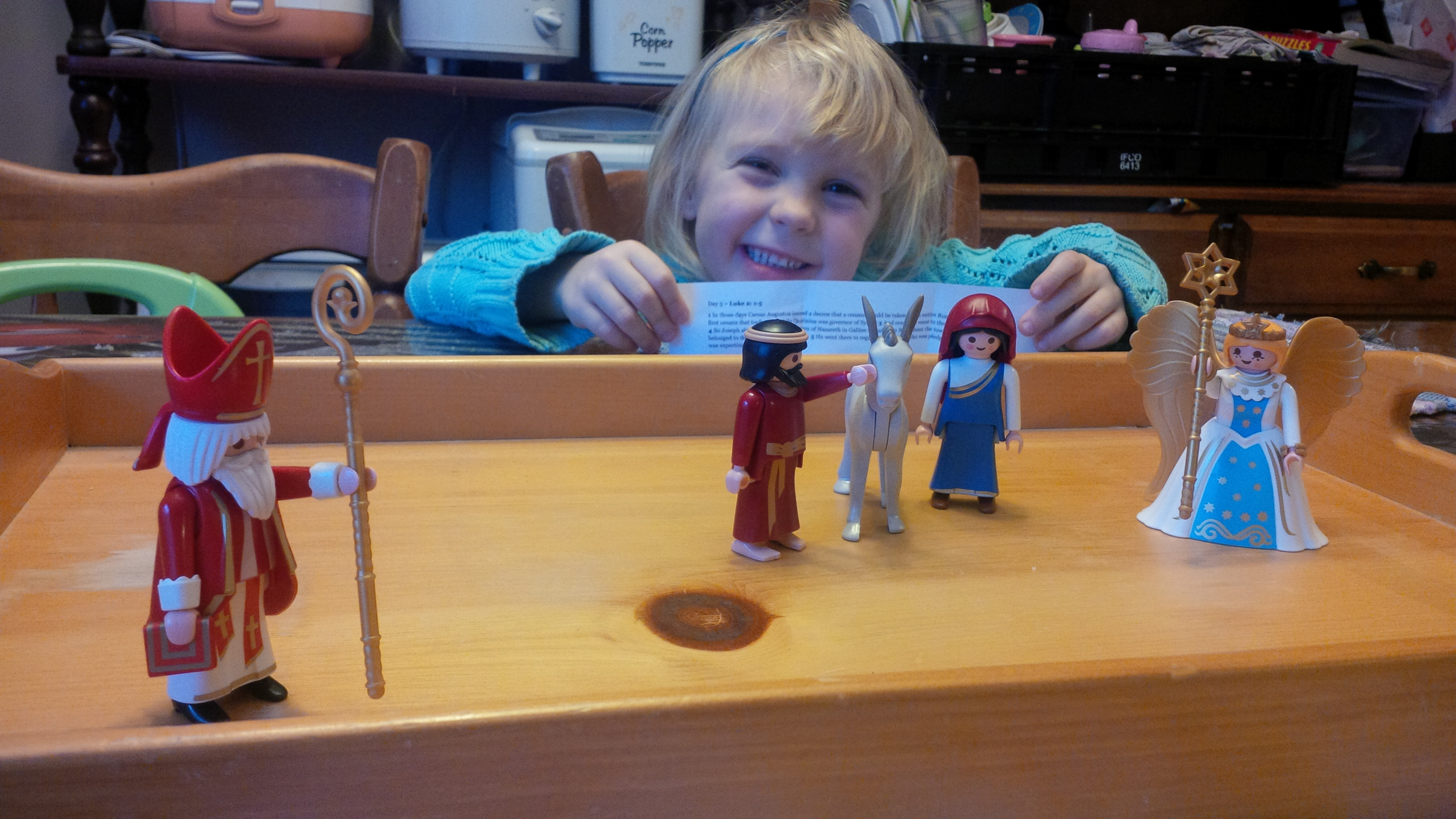 Playmobil Advent – Day Five