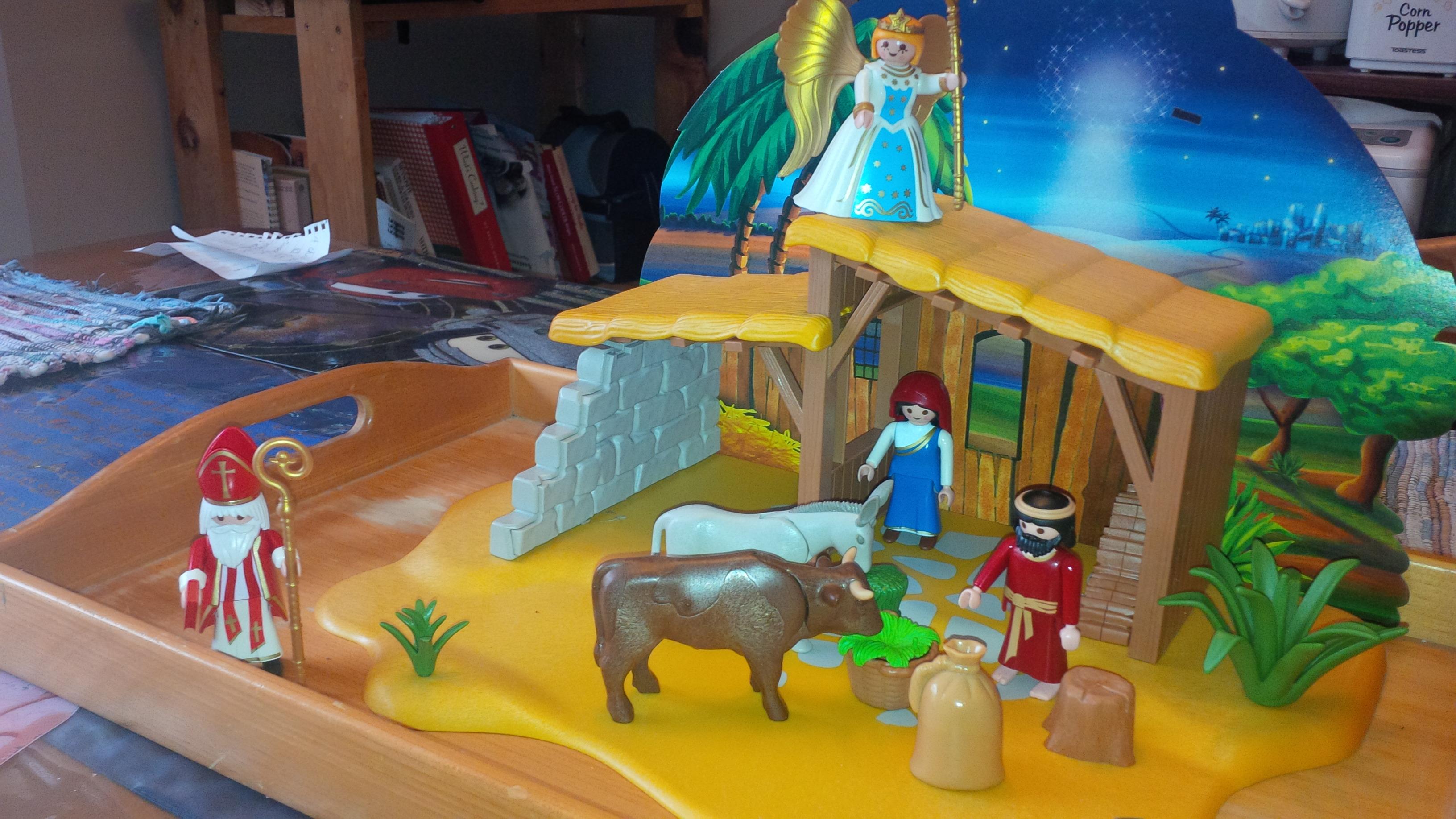 Playmobil Advent – Day Nine