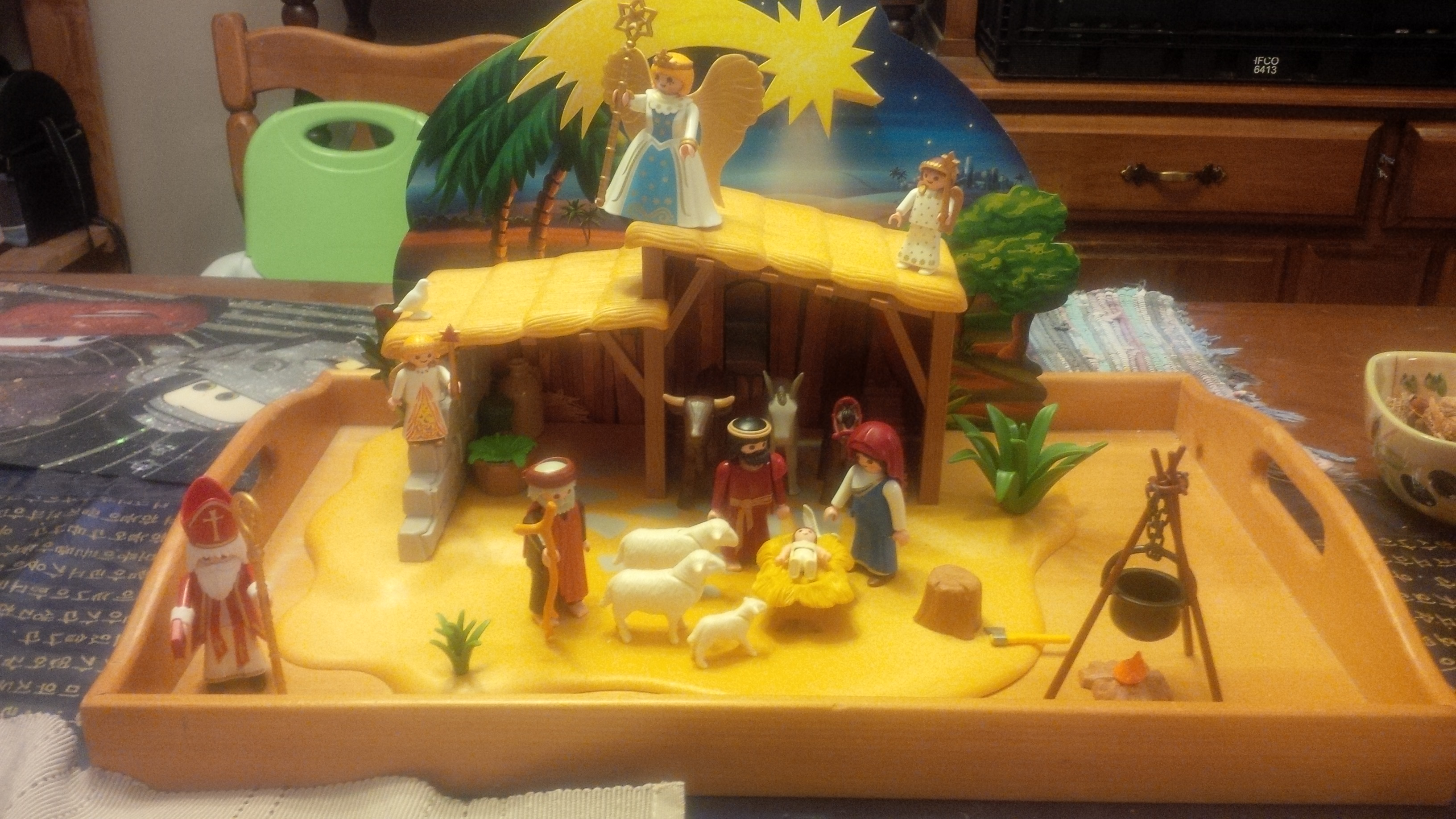 Playmobil Advent – Day Eighteen