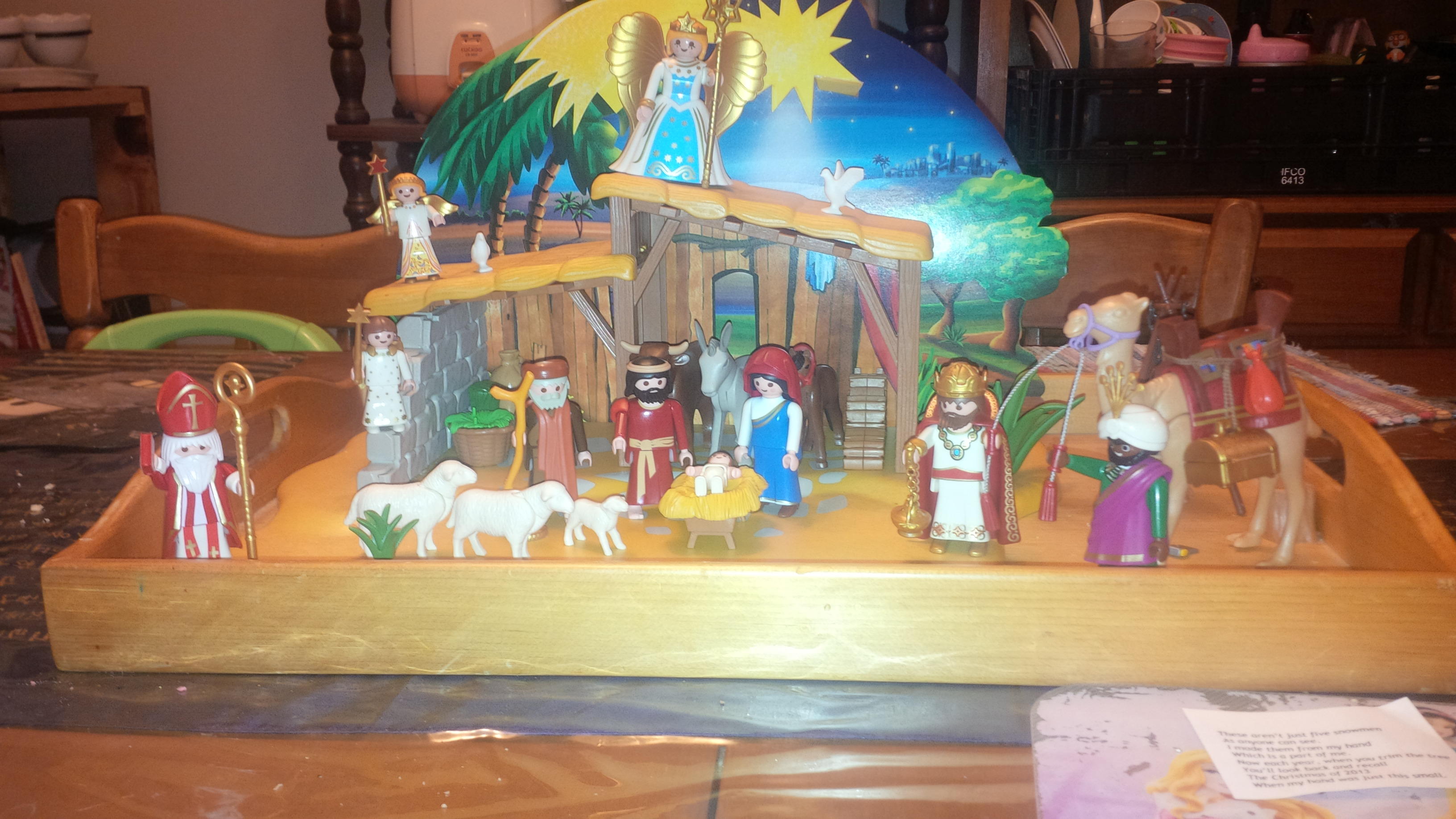 Playmobil Advent – Day Twenty